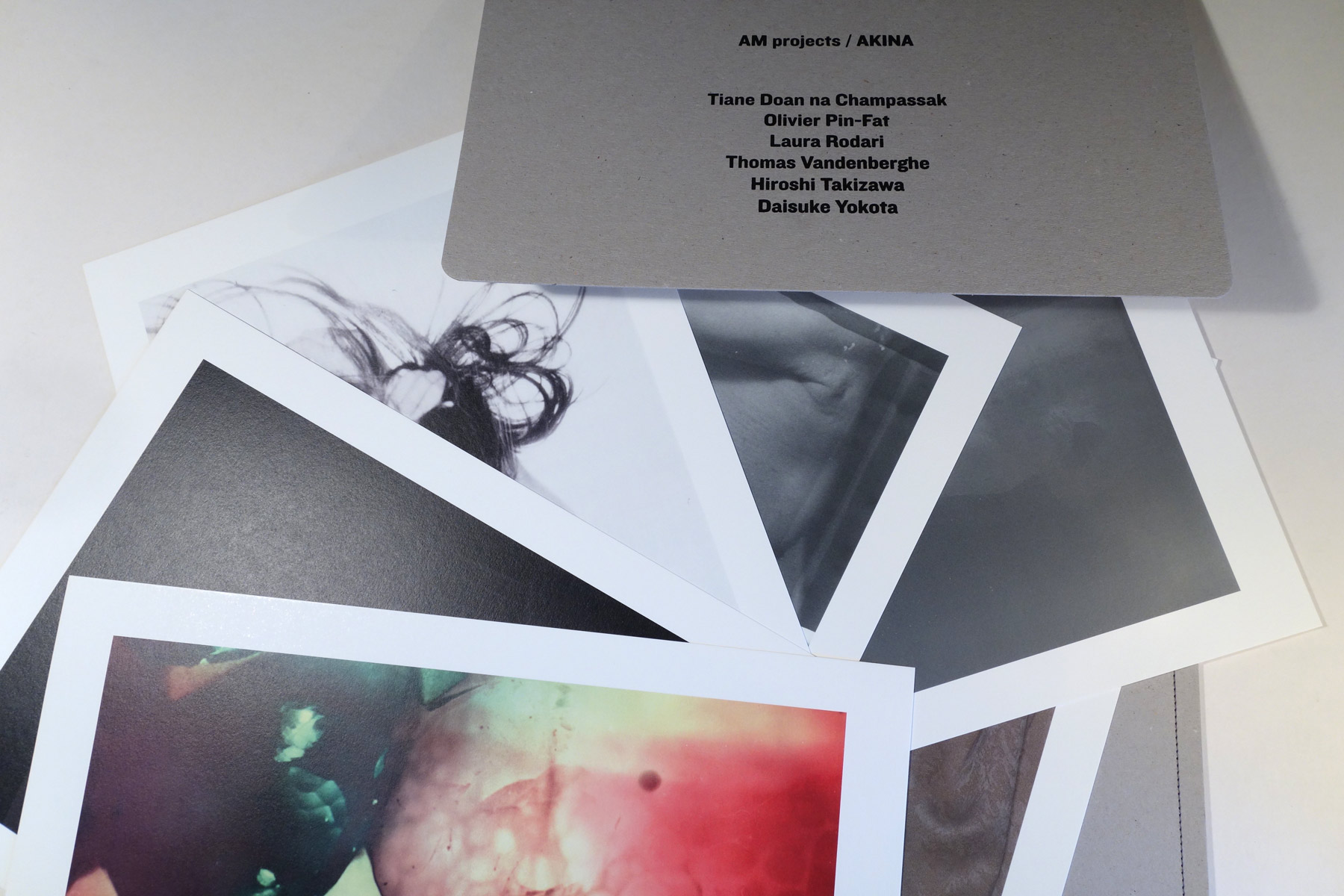 BKK Bangkok AMprojects Akina prints Champassak Vandenberghe Rodari Yokota  Takizawa Pin-Fat ...